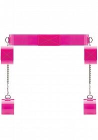 Pink Translucent Bondage Belt with Velcro