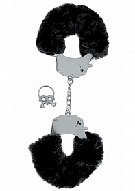 Furry Cuffs - Black