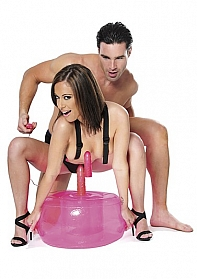 Inflatable Hot Seat - Pink