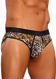 Lo Rise Enhancer Bikini - Brown