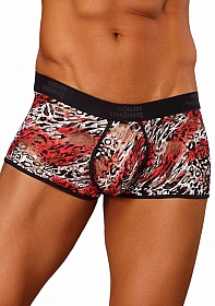Lo Rise Enhancer Short - Red