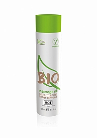 HOT BIO massage oil - bitter almond - 100 ml