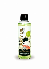 SHIATSU Luxury body oil - lime - 100 ml
