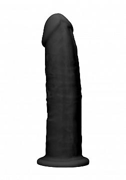 Silicone Dildo Without Balls - 15,3 cm - Black