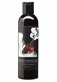 Cherry Edible Massage Oil -- 8 oz