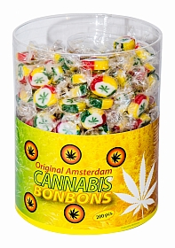 Cannabis bonbons - Display - 200 pieces