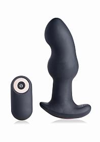 Gyro I 10X Curved Rimming Plug with RC - Black