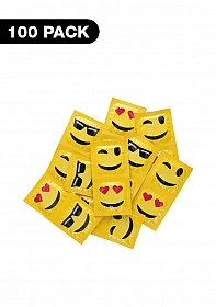 Exs Emoji Condoms - 100 pack